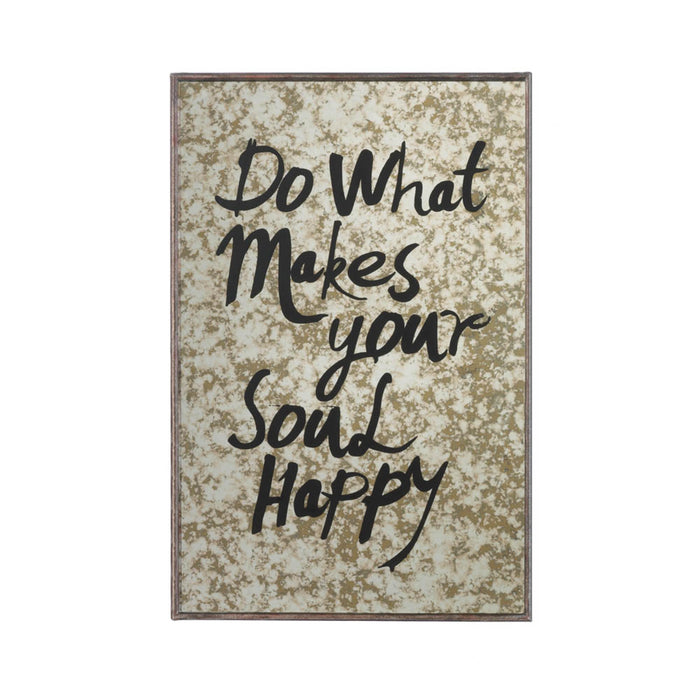 MALIBU HAPPY SOUL WALL MIRROR