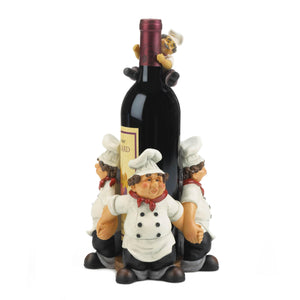 CHEFS CIRCLE WINE BOTTLE HOLDER