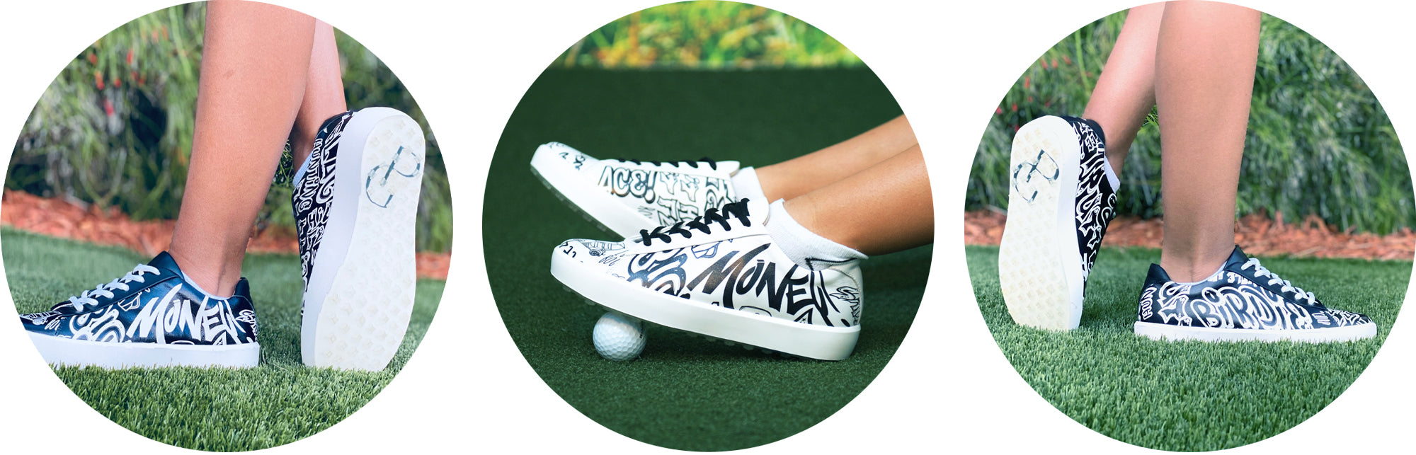 Golfitti Shoes Collage