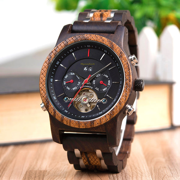 About the Luxury Wooden Dive Watch........
