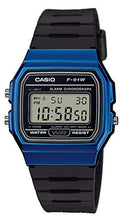 Load image into Gallery viewer, Casio Collection Unisex Adults Watch Blue F-91WM-2AEF