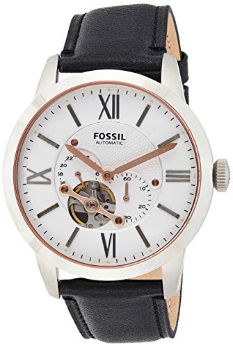 Fossil Men's Townsman Automatic Watch with Leather Strap ME3104