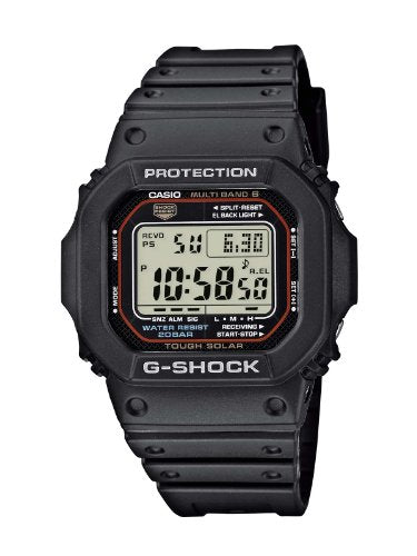 Casio G-SHOCK Men's Digital Quartz Watch with Rubber Strap GW-M5610-1ER