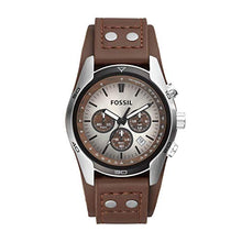 Load image into Gallery viewer, Fossil Men's Chronograph Quartz Watch with Leather Strap CH2565