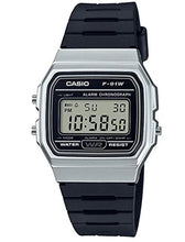 Load image into Gallery viewer, Casio Collection Unisex Adults Watch Silver F-91WM-7AEF