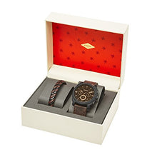Load image into Gallery viewer, Fossil Men's Chronograph Quartz Watch with Leather Strap FS5251SET