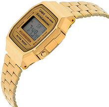 Load image into Gallery viewer, Casio Unisex Digital Gold Watch with Stainless Steel Strap A168WG-9WDF