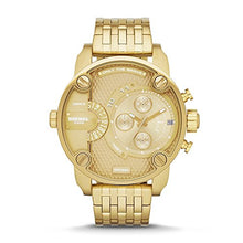 Load image into Gallery viewer, Diesel Men's Little Daddy Gold Watch DZ7287