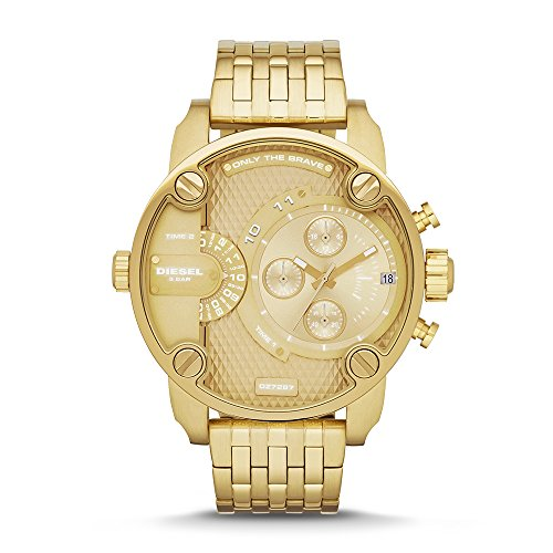 Diesel Men's Little Daddy Gold Watch DZ7287