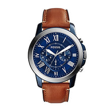 Load image into Gallery viewer, Fossil Men's Chronograph Quartz Watch with Leather Strap FS5151