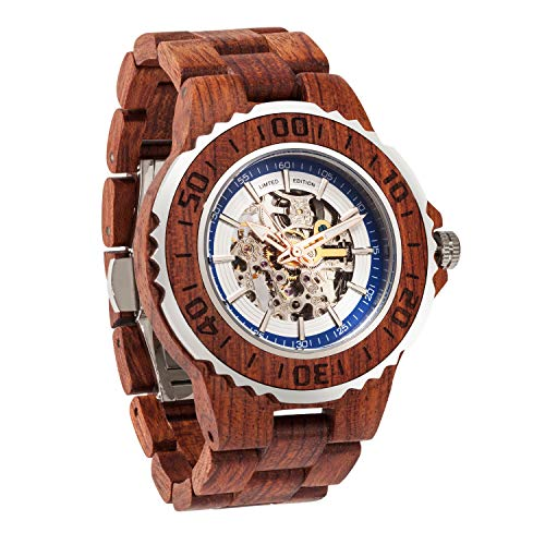 Wilds | Automatic Kosso Wooden Watch
