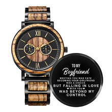 Load image into Gallery viewer, Positano | Boyfriend | Zebra Wood