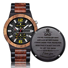 Load image into Gallery viewer, Bellagio III | Dad | Ebony Wood