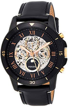 Load image into Gallery viewer, Fossil Men's Grant Sport Black Leather Automatic ME3138