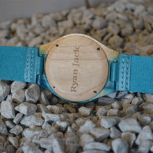 Load image into Gallery viewer, Minimalist Hand Made Resin Wooden Watch - ryanjackcouk