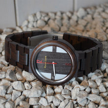 Load image into Gallery viewer, Ebony Handmade Unisex Wood Watch - ryanjackcouk