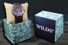 Load image into Gallery viewer, Wilds | Dual Wheel Automatic Ebony & Rosewood Watch