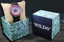 Load image into Gallery viewer, Wilds | Automatic Rose Ebony Wooden Watch