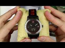 Load and play video in Gallery viewer, Wilds | Men's Handcrafted Ebony & Rose Wood Watch