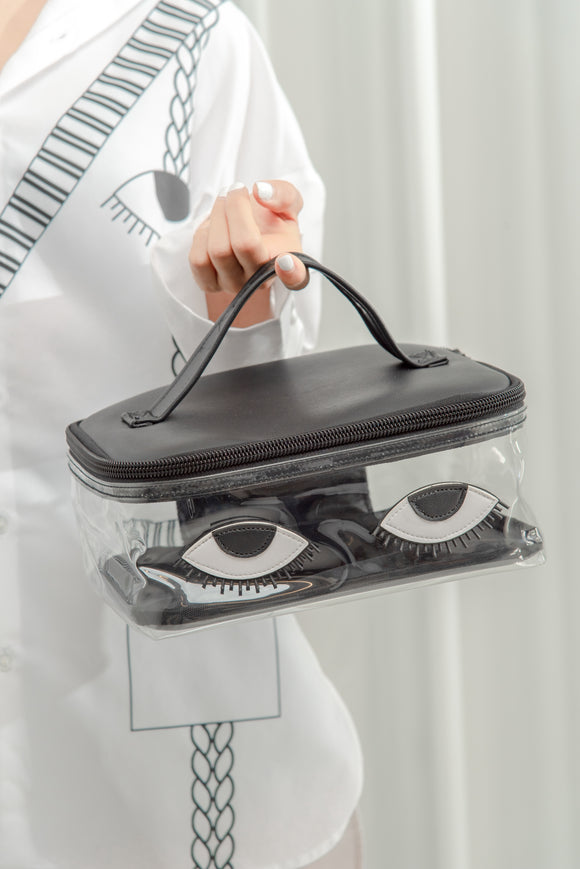 """Look At Me"" Makeup Bag"