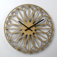 WOODEN WALL CLOCK - DIAMOND
