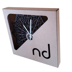 WOODEN WALL CLOCK - Starflake