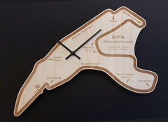 RACETRACK WALL CLOCKS