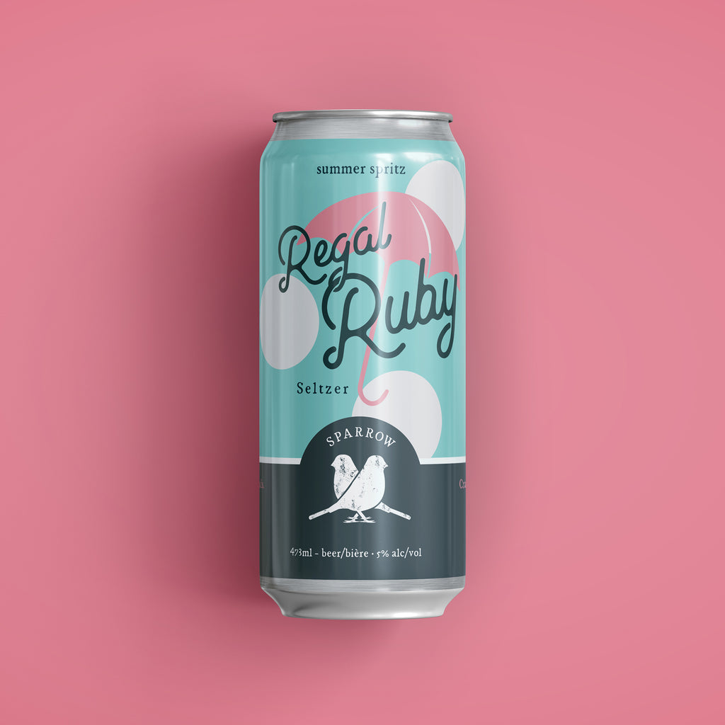 Regal Ruby Seltzer - Apricot/Plum