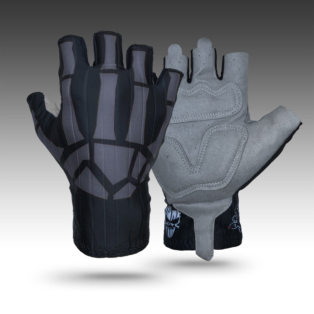 Junk Gray Bones Aero Racing Gloves