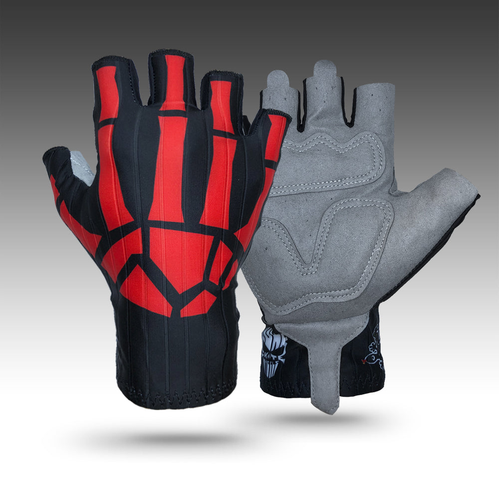 Junk Red Bones Aero Racing Gloves