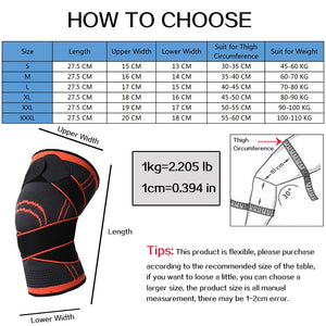 Knee Sleeves Brace with Patella Stability
