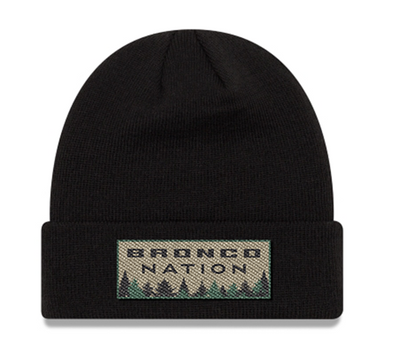 Bronco Nation Watch Cap - Black