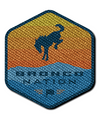 Bronco Nation Shield Patch - Multi