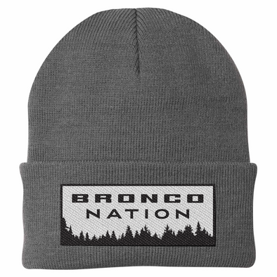 Bronco Nation Watch Cap - Heather Gray