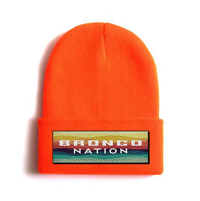 Bronco Nation Watch Cap - Safety Orange