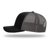 Snapback Trail Cap - Black/Charcoal