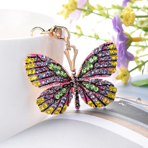 Colorful Butterfly Keychain - willbling