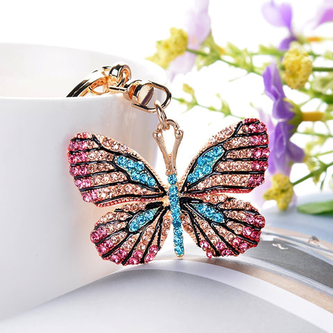 Image of Colorful Butterfly Keychain - willbling
