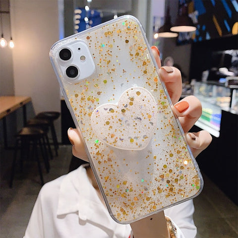 Image of Bubble Glitter w/popsocket - willbling