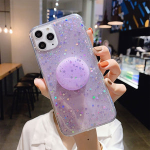 Bubble Glitter w/popsocket - willbling