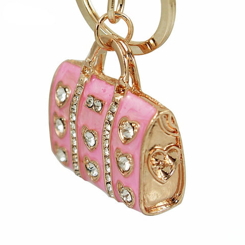 Image of Crystal Handbag Keychains - willbling