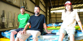 In the News - Kayak Distributorship Opens in Swannanoa