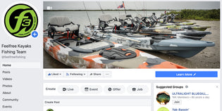 F3 Team News - Feelfree Kayaks Fishing Team Launches Facebook Page