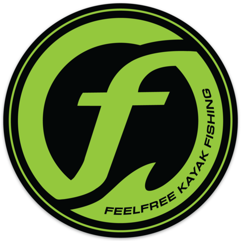 Feelfree Circle Logo Sticker