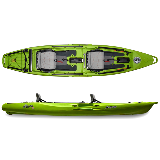 Lure II Solid Lime Closeout