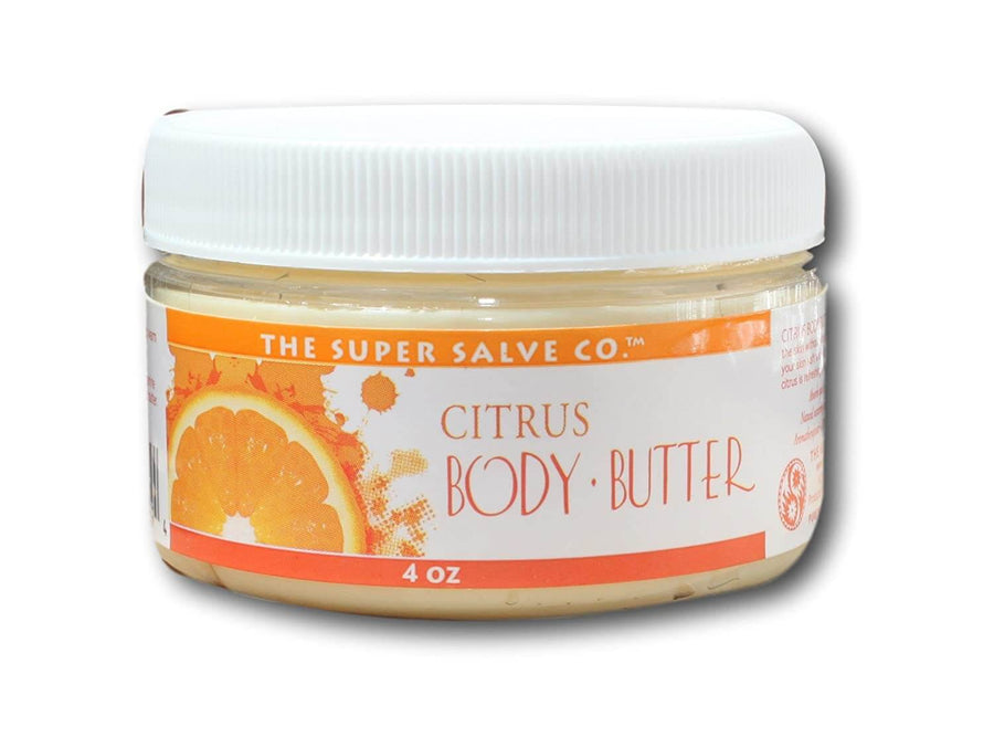 Citrus Body Butter 4oz - Winter Sun Trading Co.