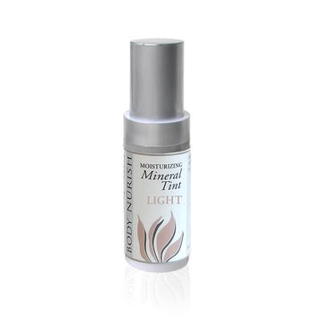 Body Nurish Moisturizing Mineral TInt-Light- against a white background