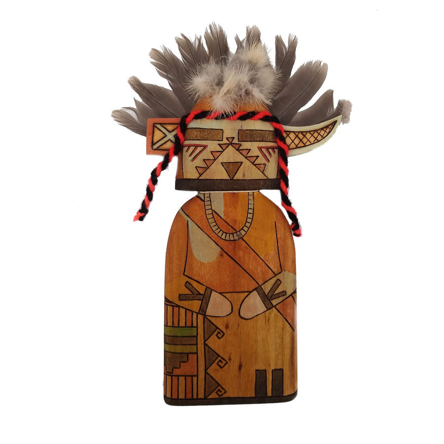 Havasupai Uncle Kachina Doll by James Poley