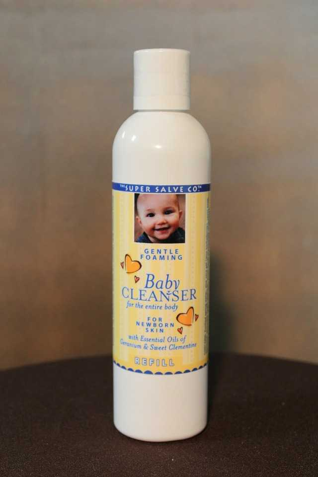 Gentle Foaming Baby Cleanser 8 oz Refill  - The Super Salve Co.