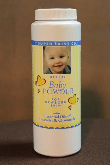 Herbal Baby Powder 4 oz.  - The Super Salve Co.